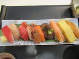 特別メニュー「握り寿司」